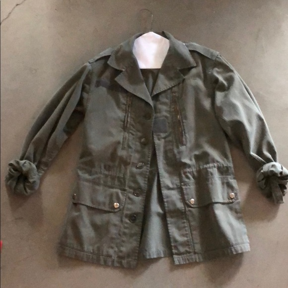 Urban Outfitters Jackets & Blazers - Green military style jacket from urban outfitters
